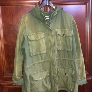 Urban Outfitters Olive utility jacket